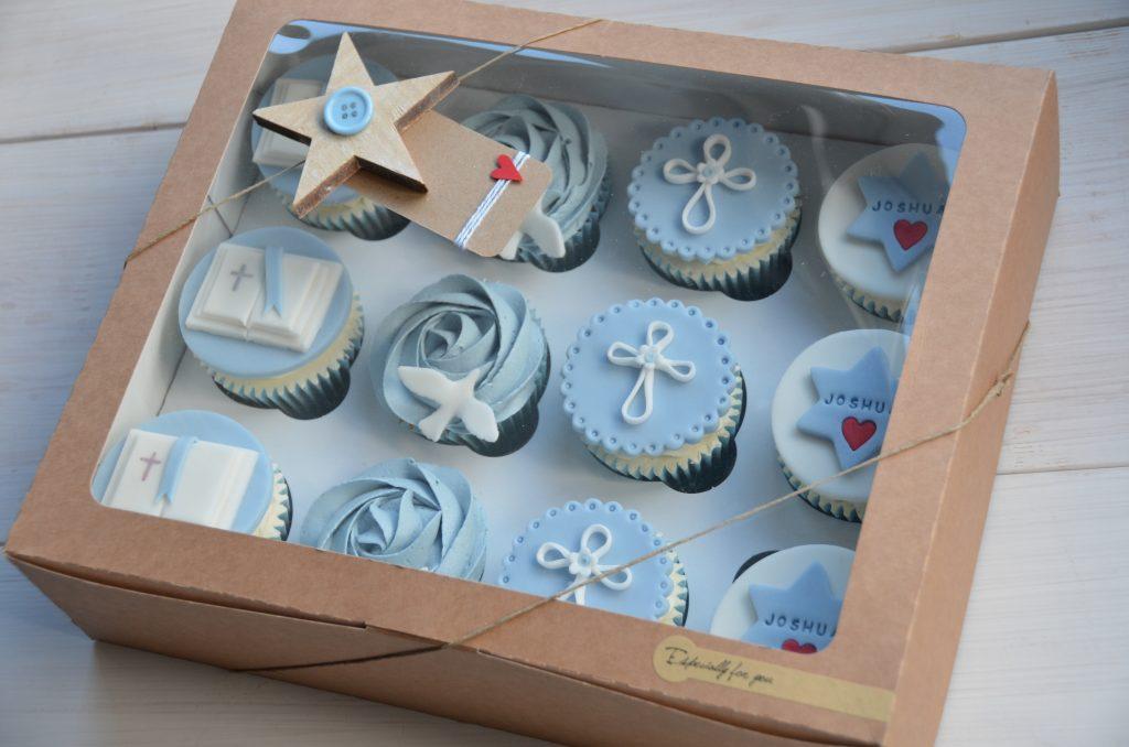 Kraft 12 Pack Cup Cake Box