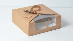 Domed Cupcake Box for Nine (2)