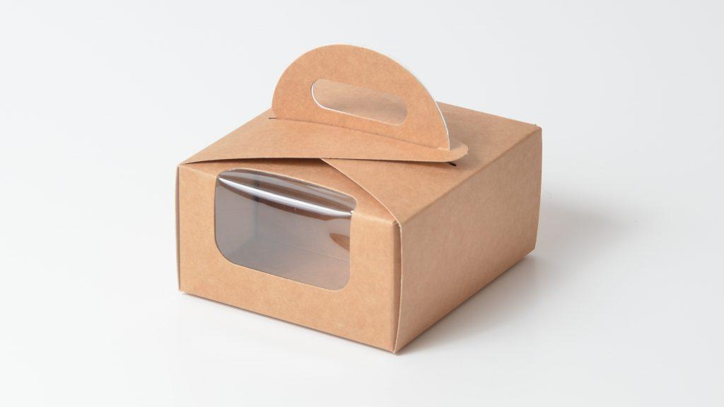 Kraft Eco Dome Macaron Box 8 Pk Code 027