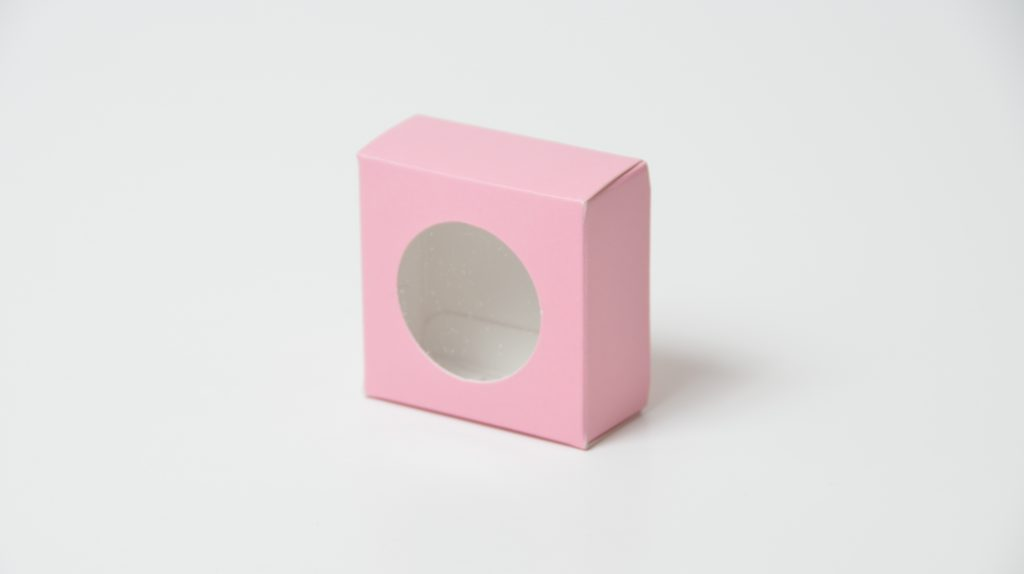 Single Macaron Box in Pink