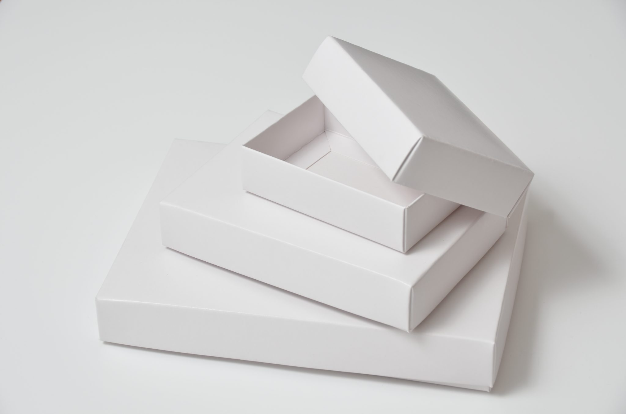Base & Lid Boxes Various Finishes available