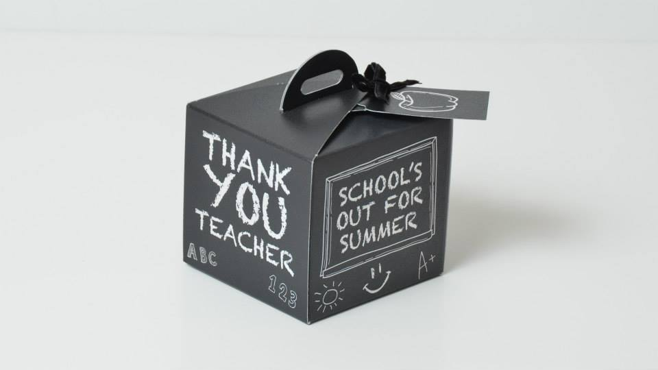 Black Teacher Thank you Box