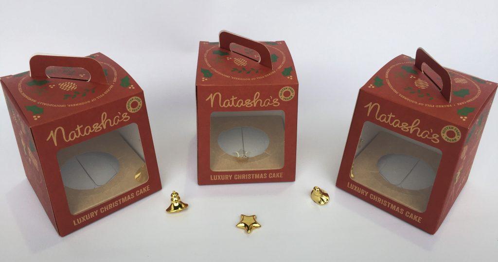 Bespoke Print Christmas Pudding Box