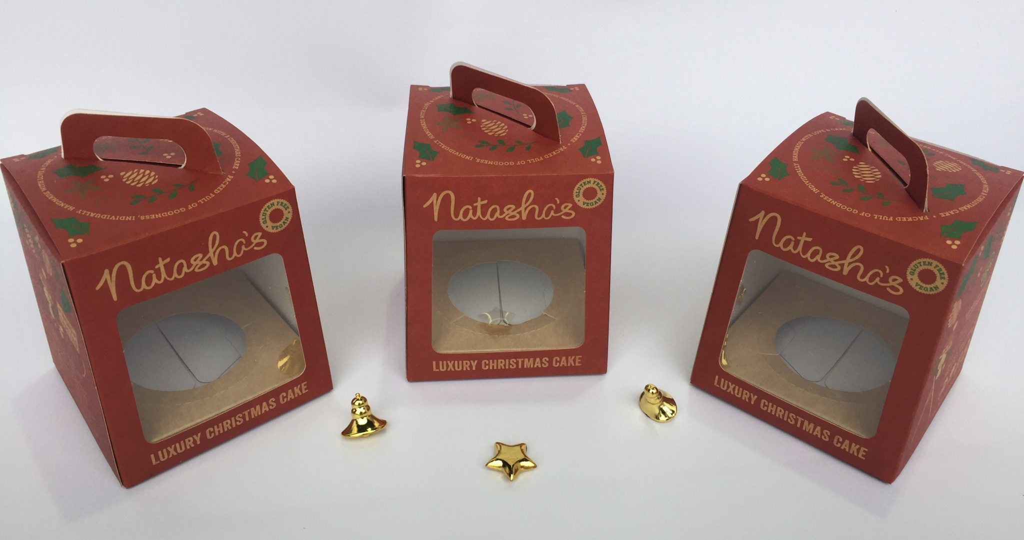 Bespoke Printed Christmas Cake Boxes