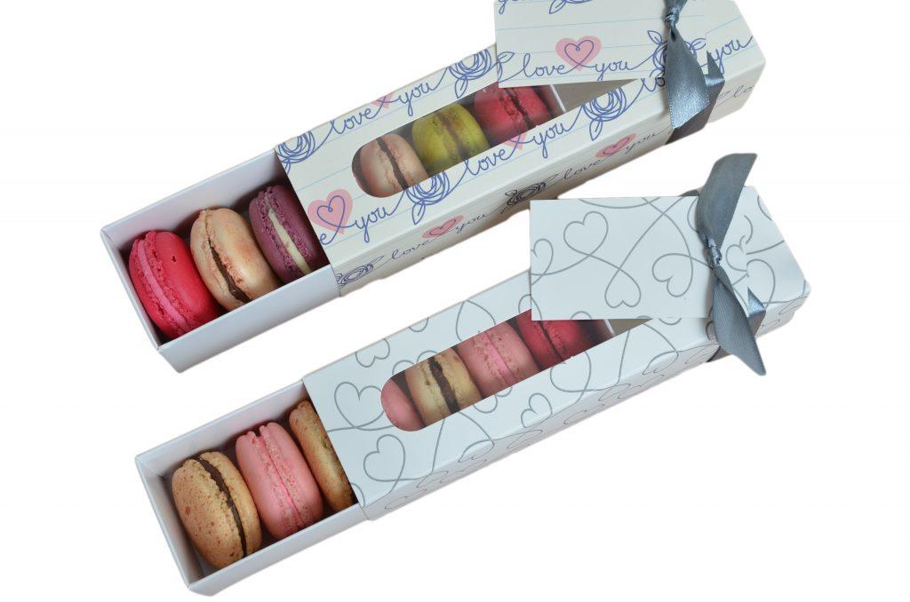 Valentines 6 Pk Macaron Sliders