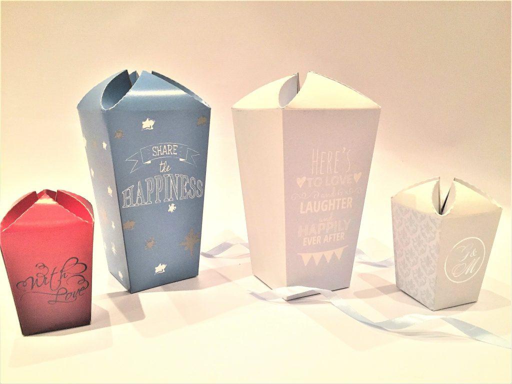 Popcorn Boxes POPLRG & POPSML
