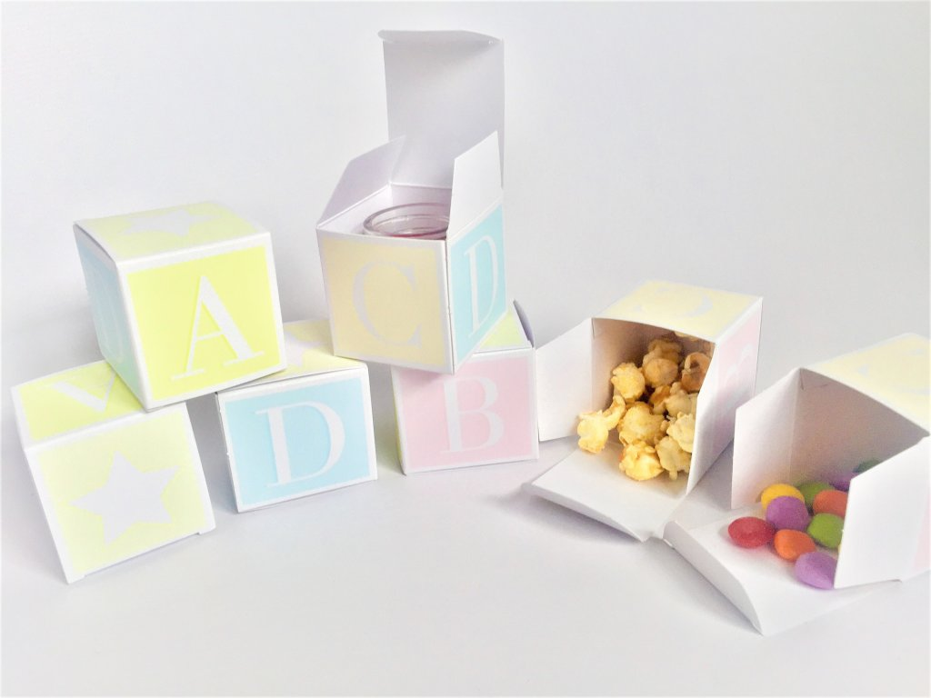 Baby Shower Block/Cube