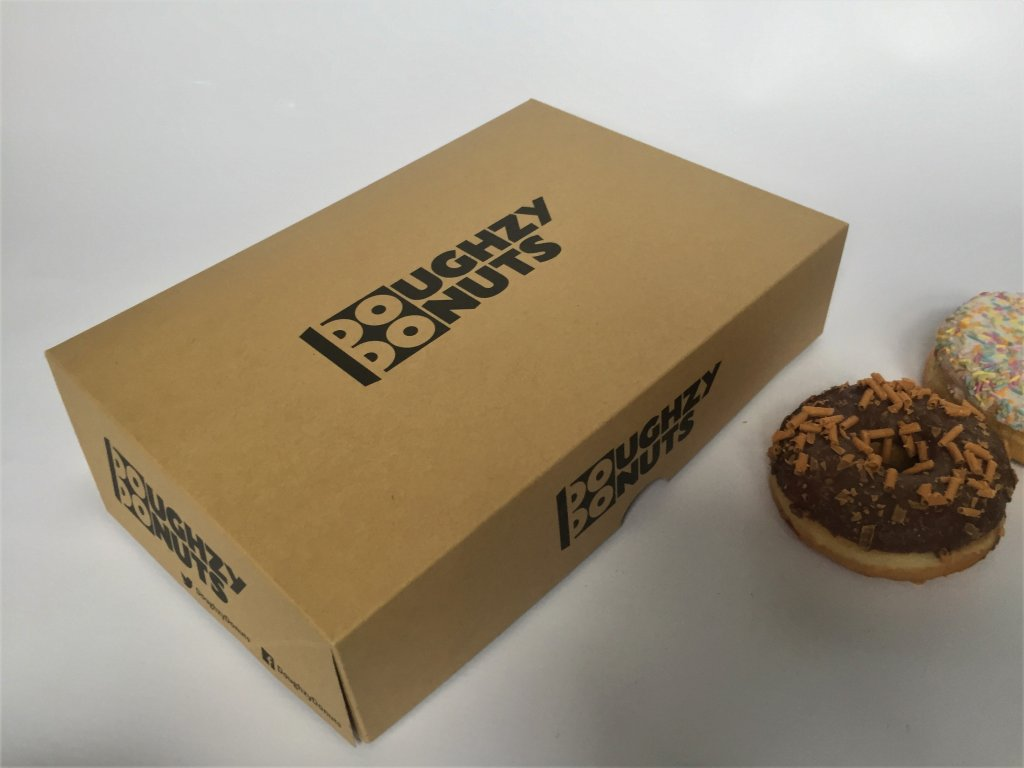 Bespoke Print 6 Pack Donut Boxes