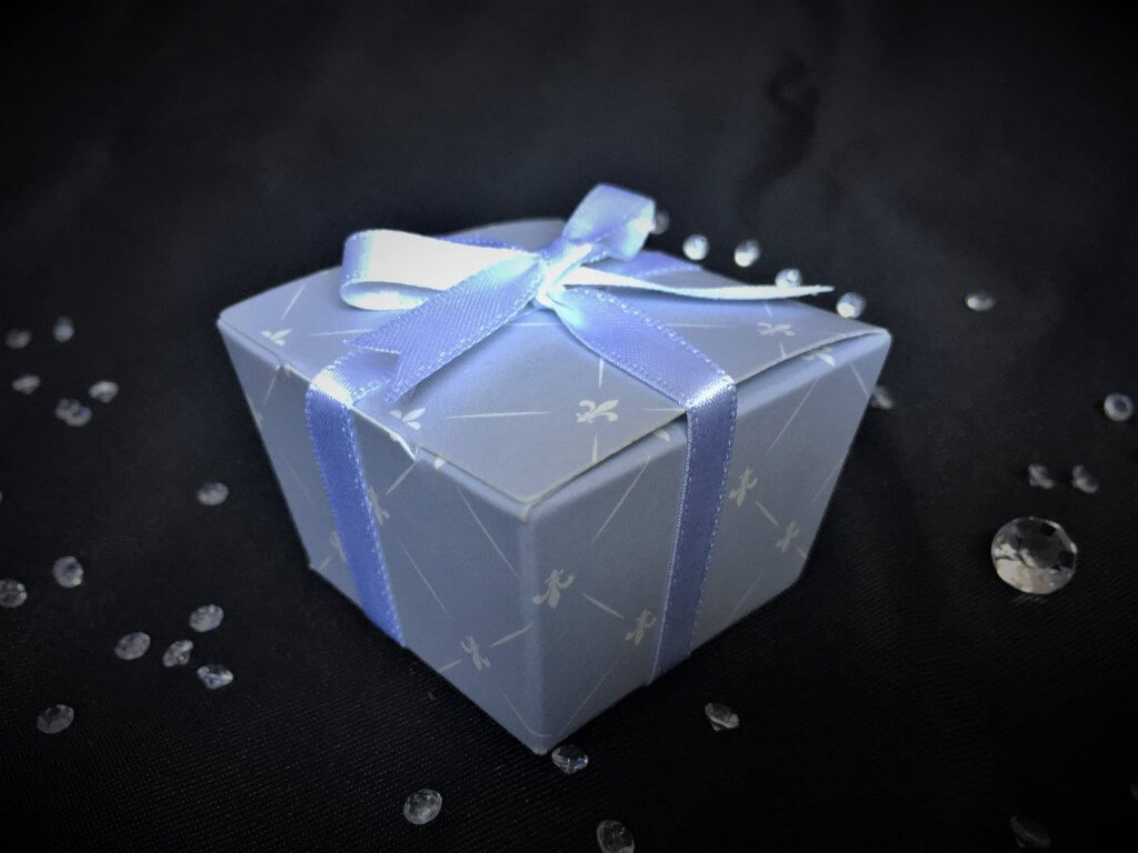 Blue/Grey Single Truffle Box