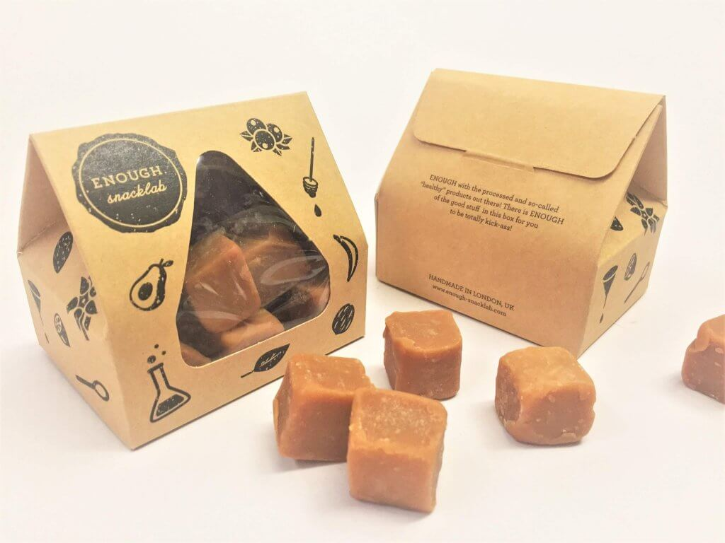 Bespoke Print Taper Top Small Truffle/Fudge Box