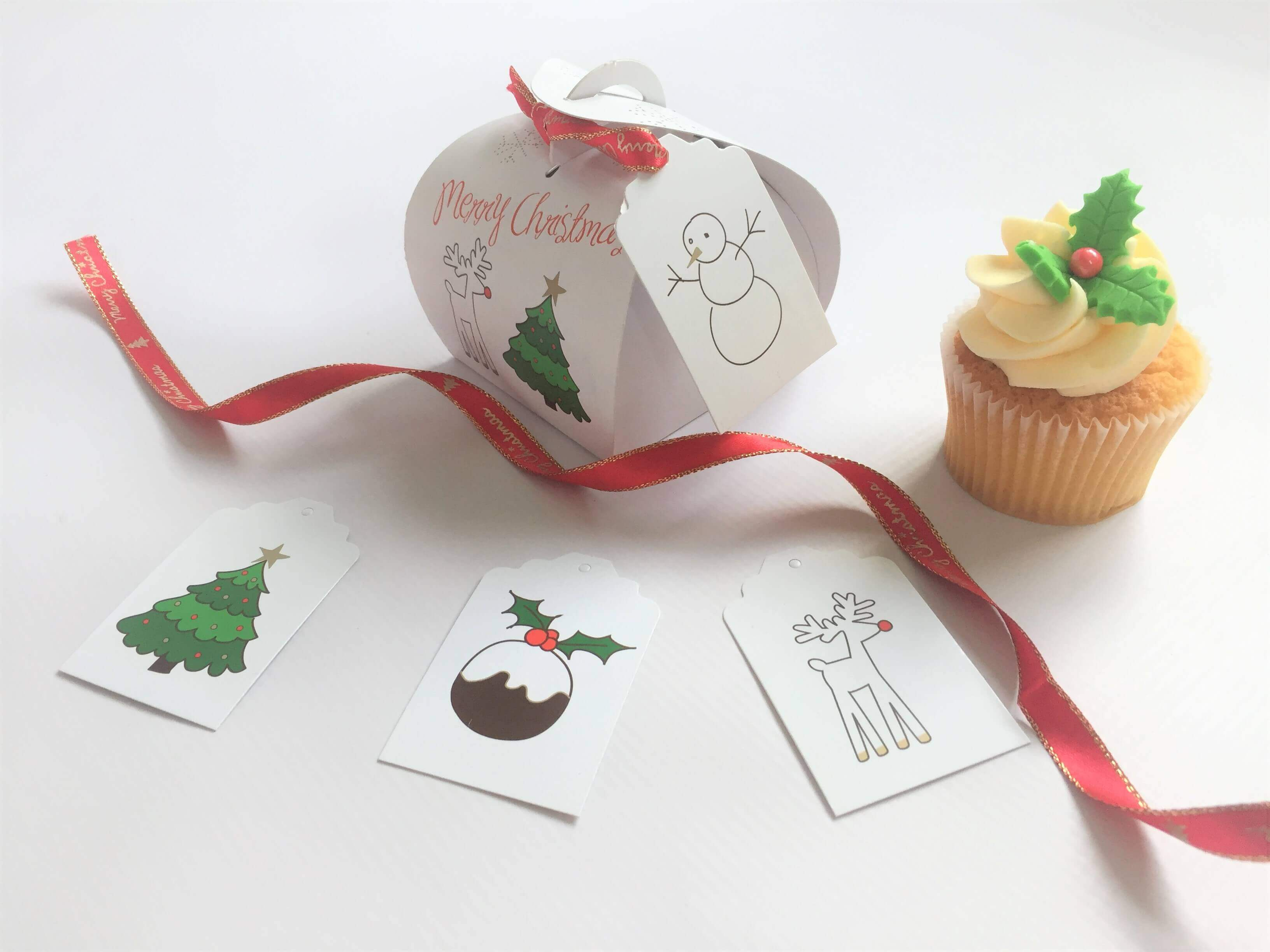 Christmas Patisserie Box with Gift Tag GP-PAT1