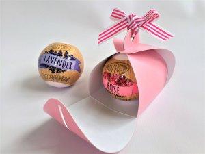 Pink Patisserie 1 Mini Cup cake Bath Bomb Box