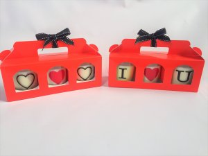 Red Triple Candle Jam Carrier