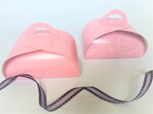 Patisserie Box 4 Pink Heart