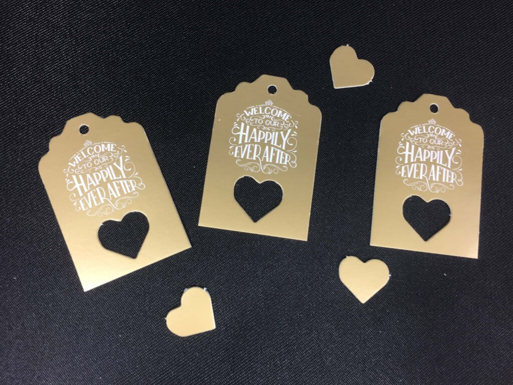 Welcome to Our Happily Ever After Mini Tag