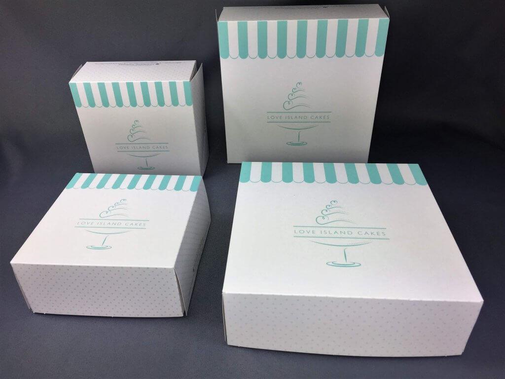 Bespke Cake Boxes
