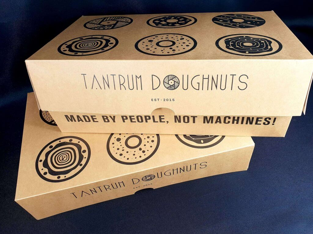 Larger Bespoke 6 Pack Donut Box