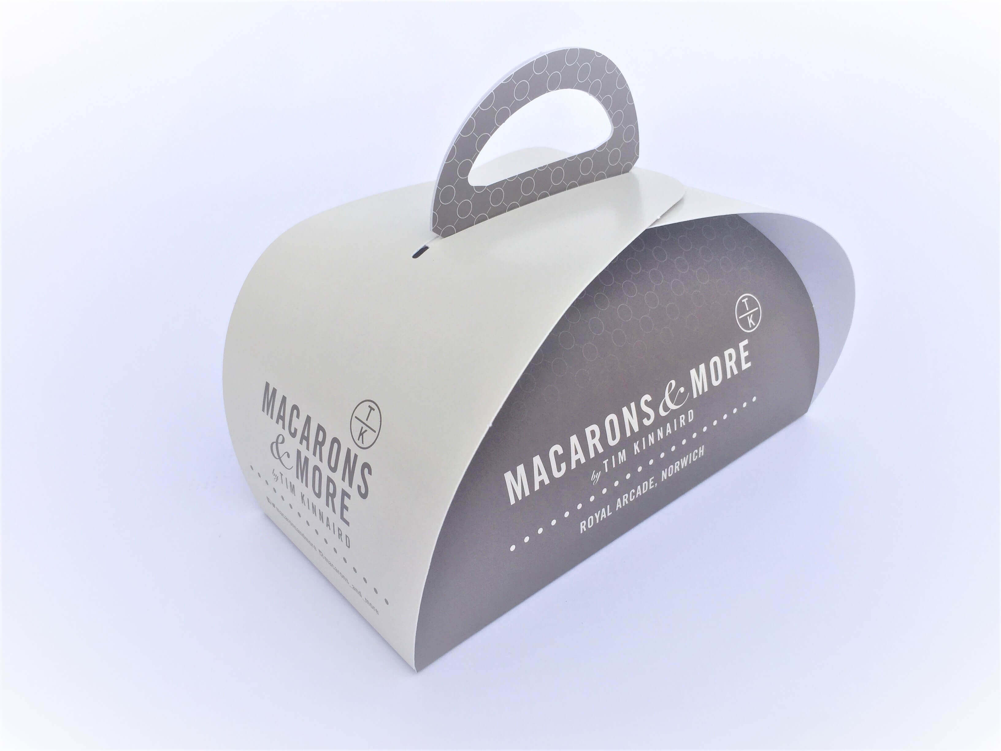 Branded Patisserie Box 180 x 90 x 100mm