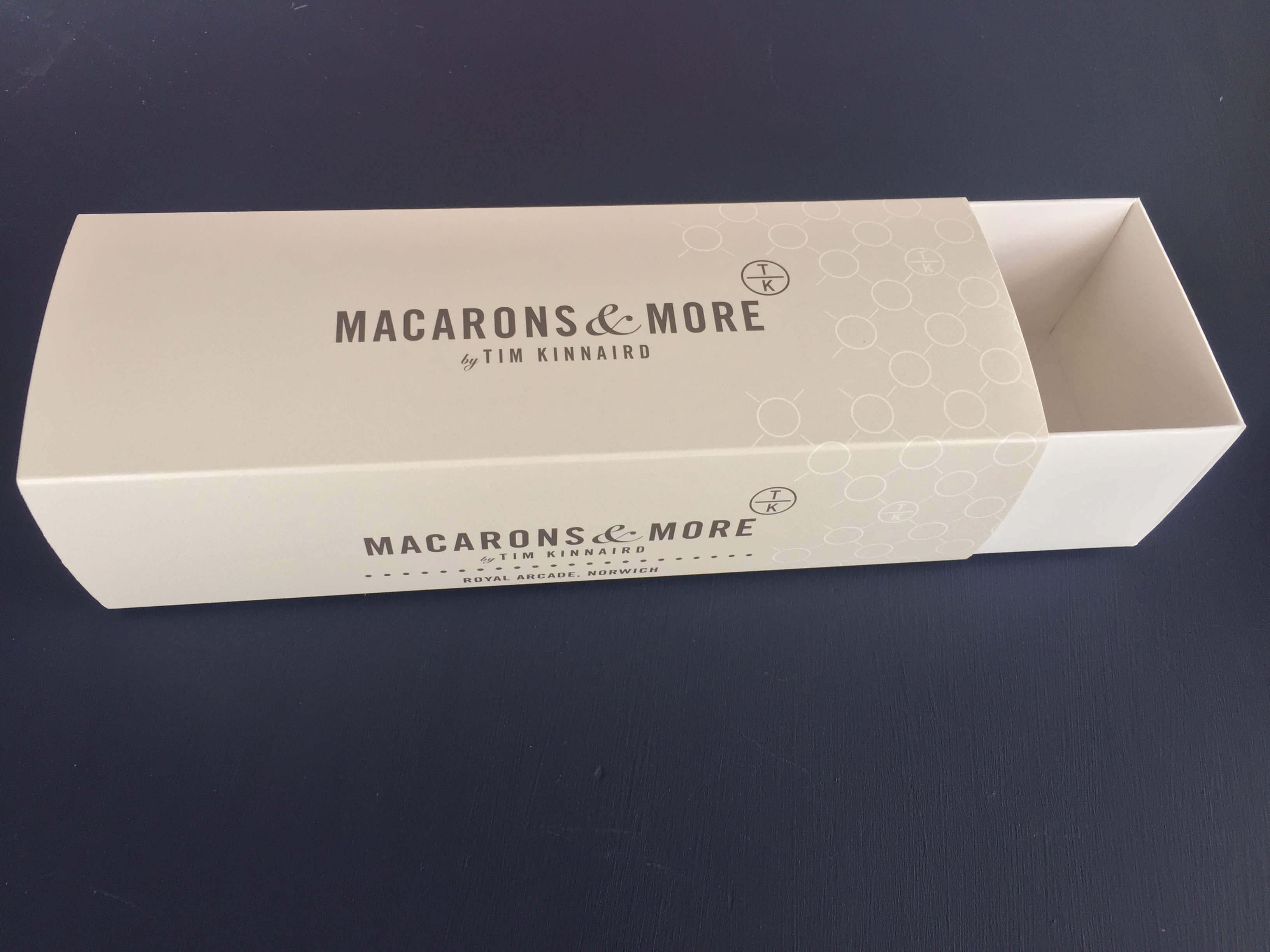 Branded 6 Pack Macaron Box