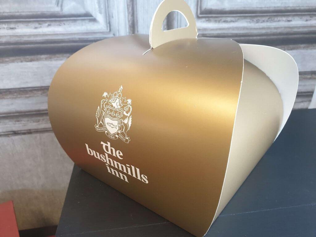 Branded Print Patisserie Box