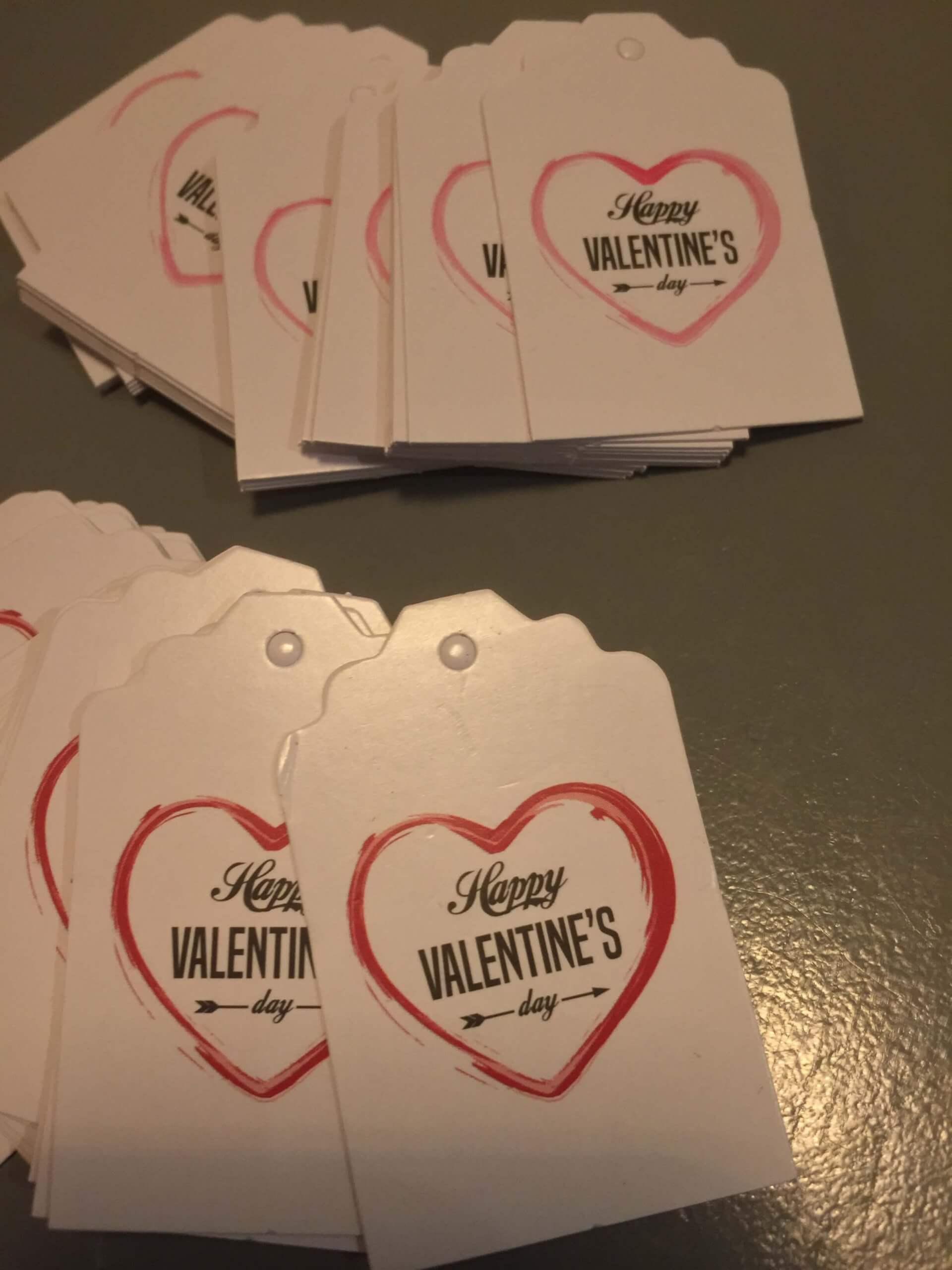 Valentines Day Tags