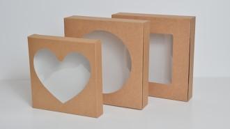 Kraft Tart Boxes