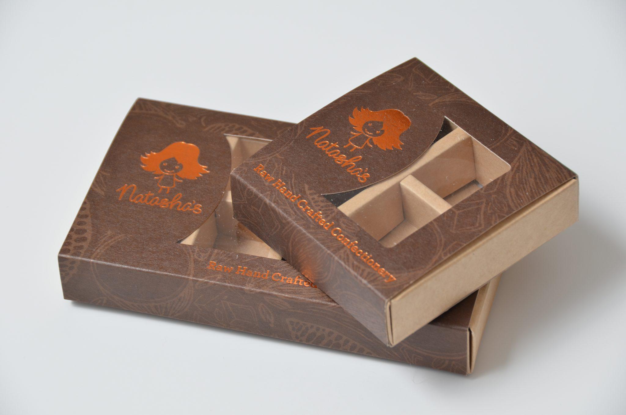 Bespoke Chocolate Boxes 4 & 8 Packs