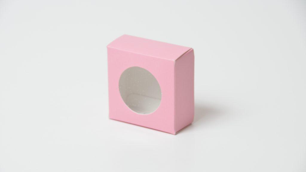 Single Macaron Box in Pink