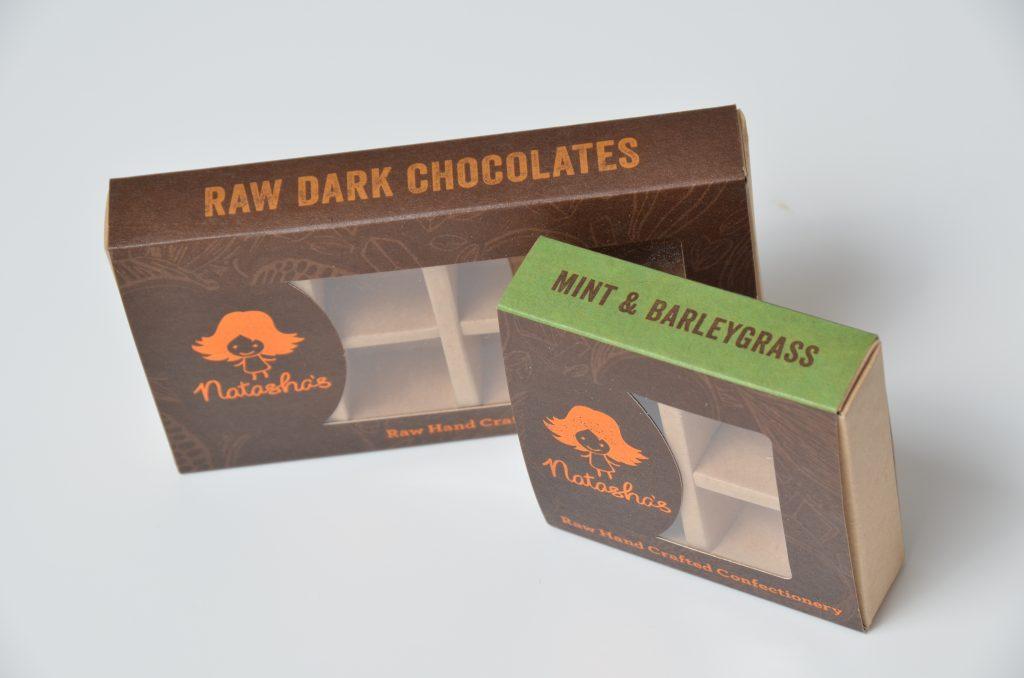 Bespoke Printed Chocolate Truffle Slider Boxes 4 & 8 Packs