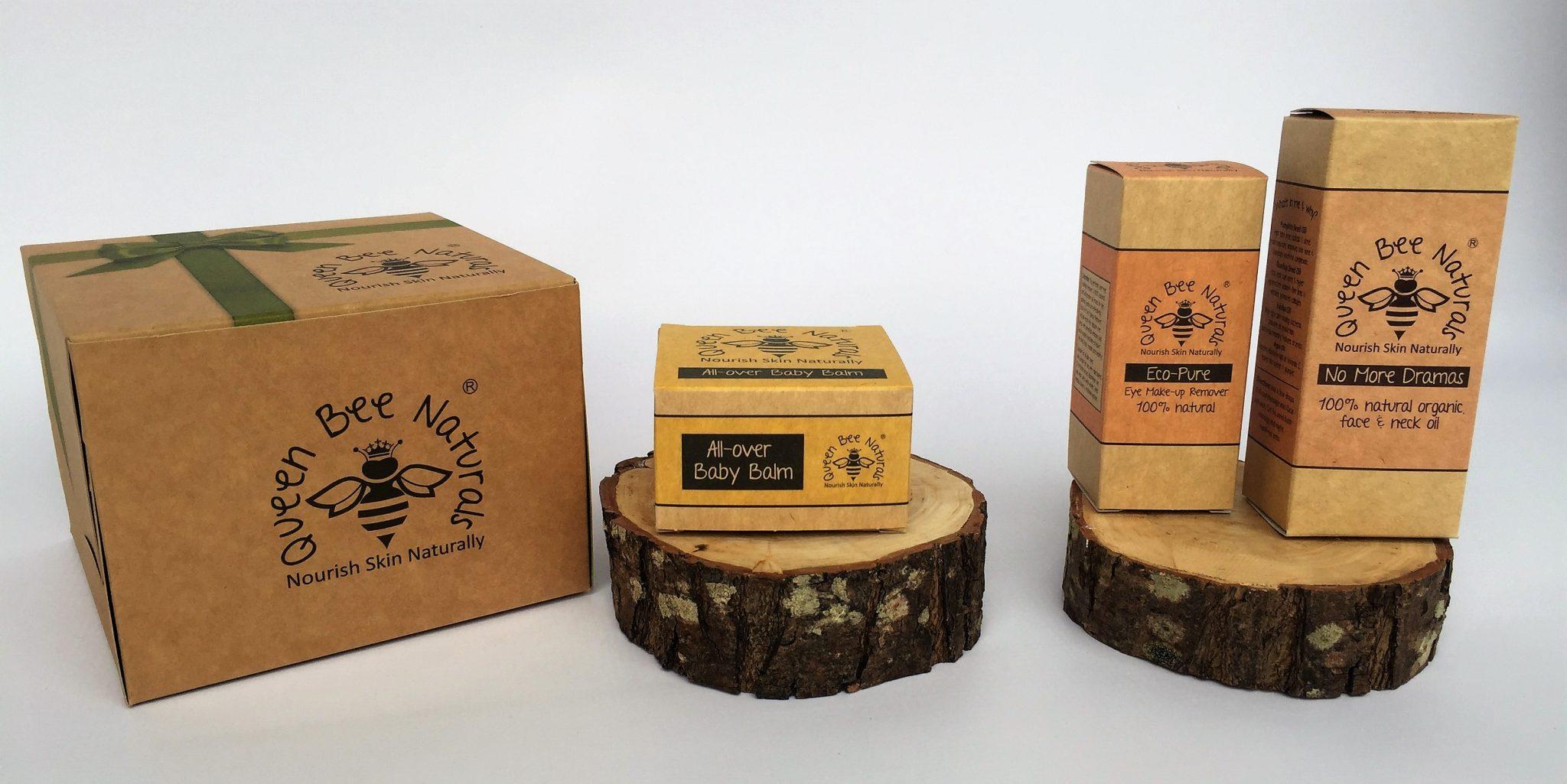 Bespoke Print on Kraft Tuck End Boxes