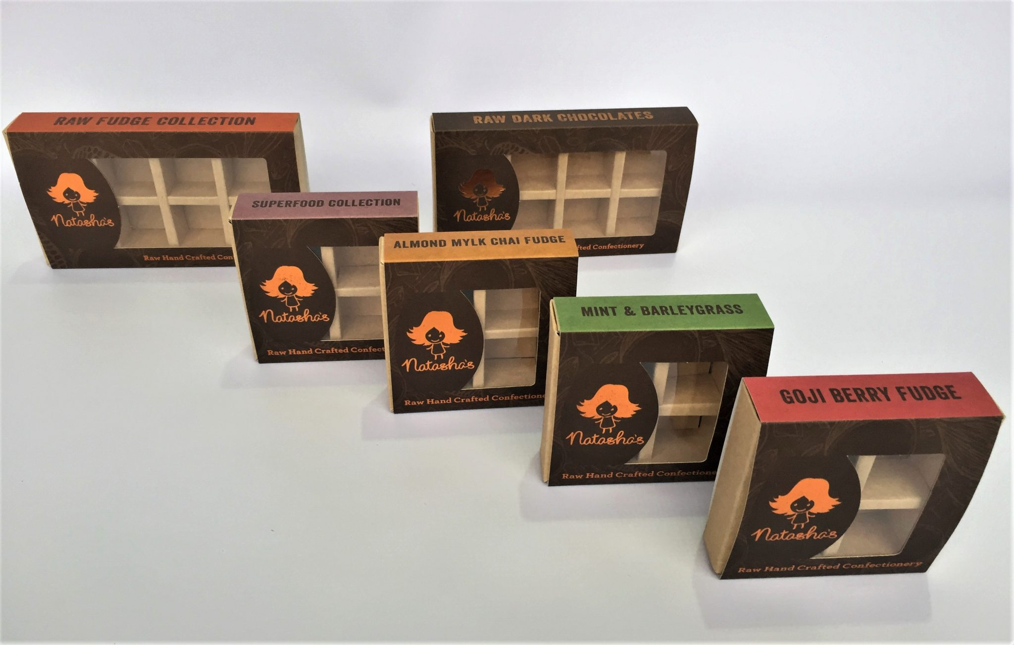 Bespoke Printed Chocolate Truffle Slider Boxes 4 & 8 Packs