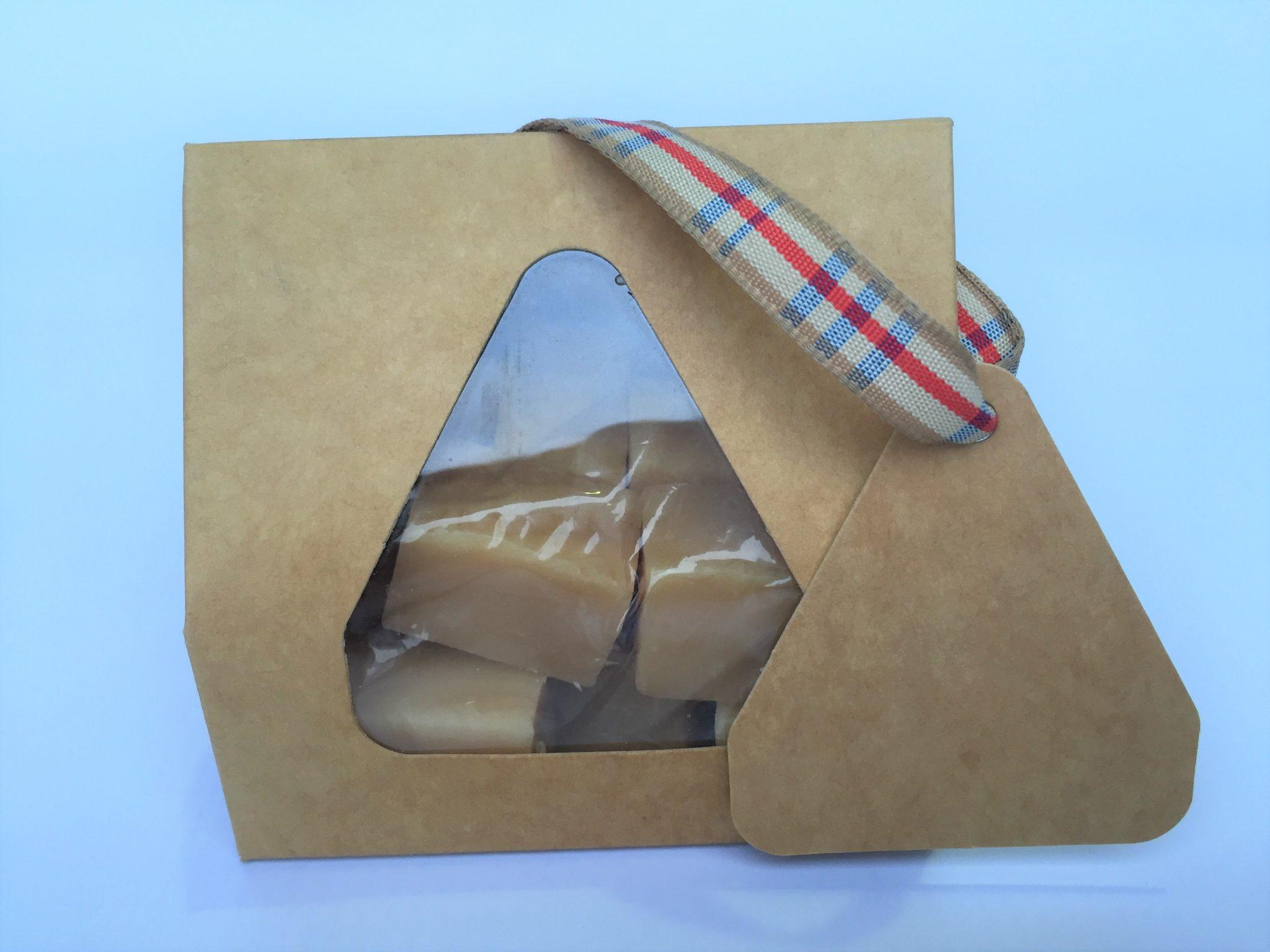 Kraft Taper Top Small Fudge Box