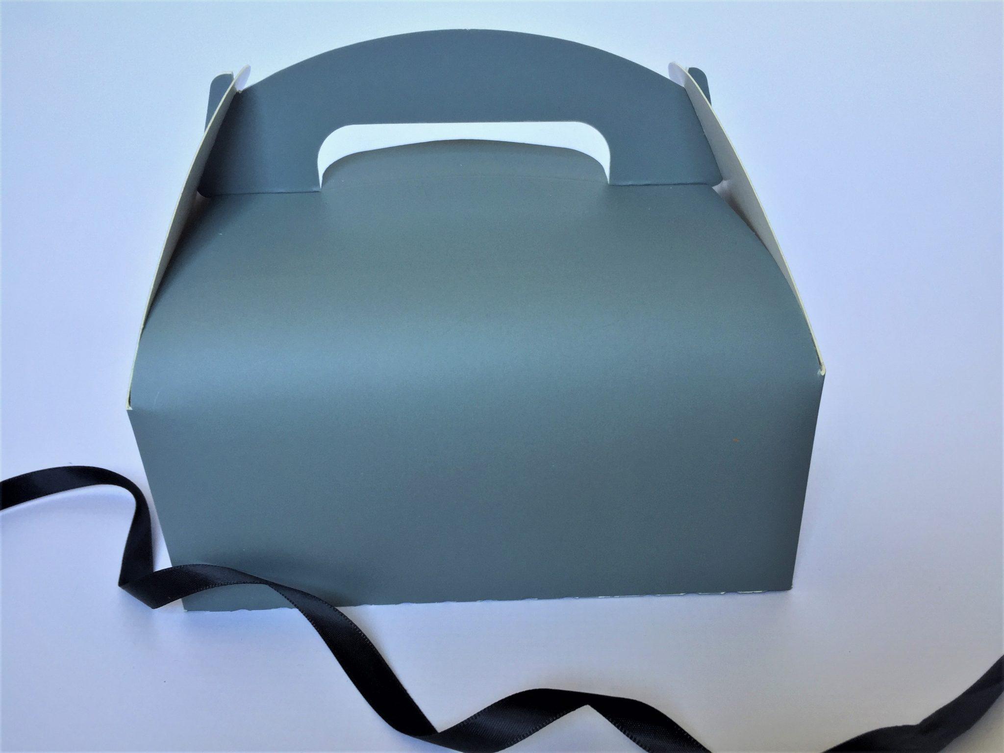 Party Box Printed Grey
