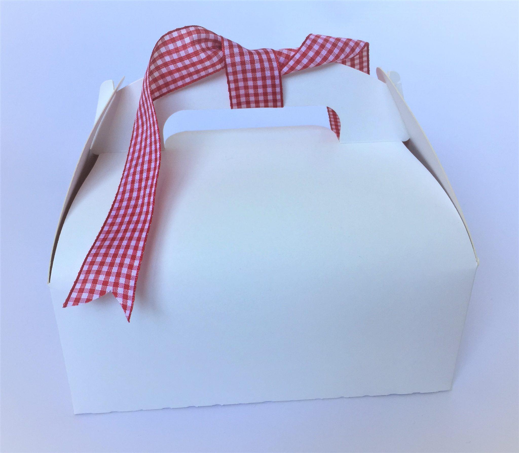 Party Box Plain White