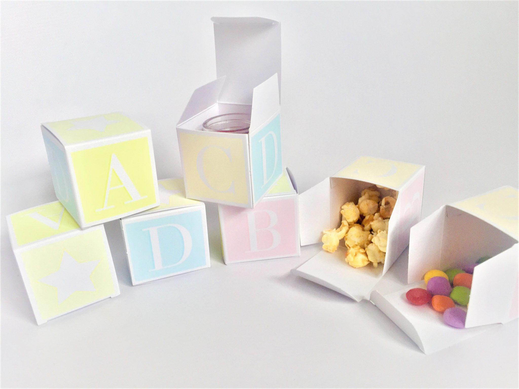 Baby Shower Block/Cube