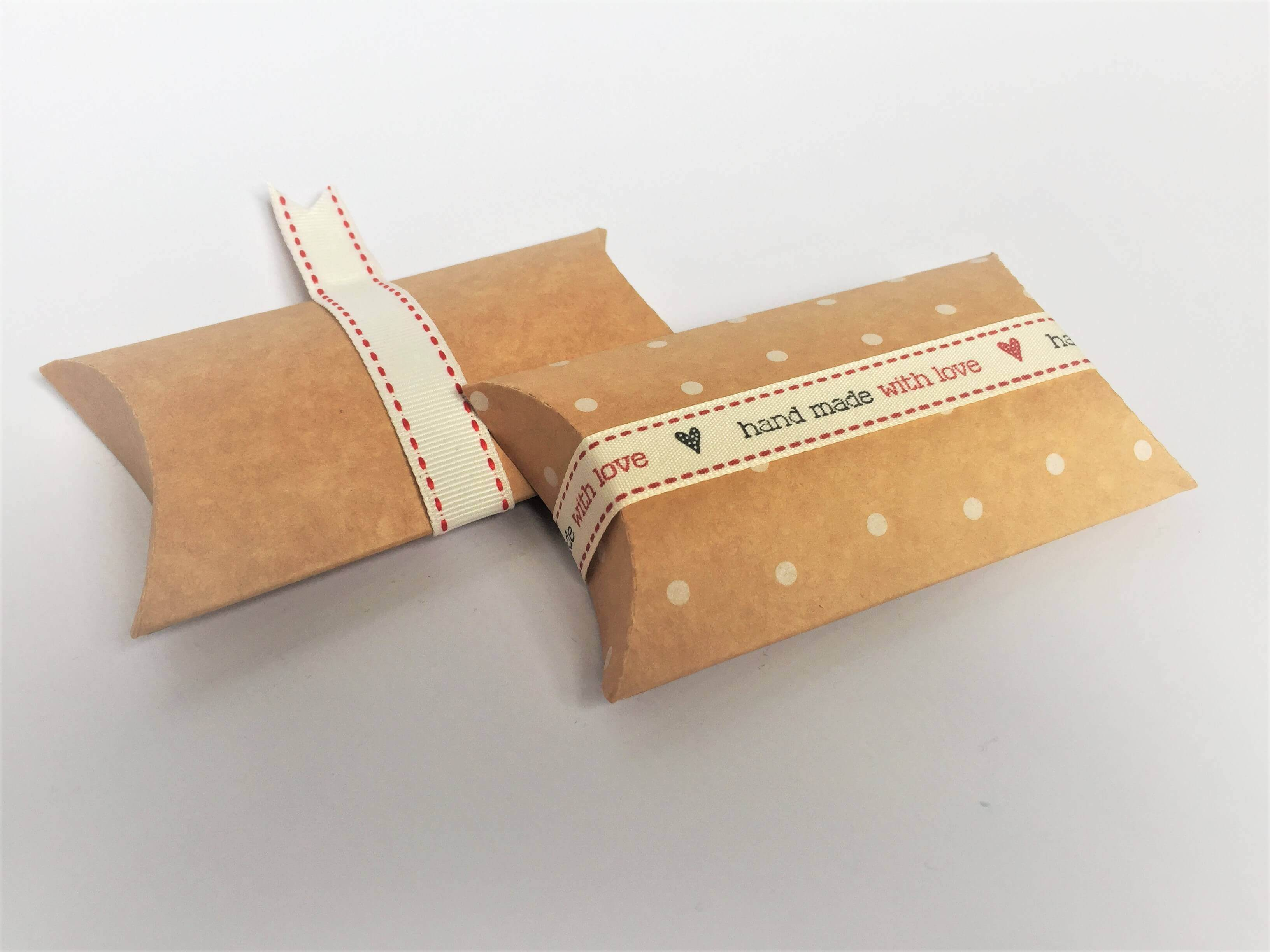 Kraft Pillow Packs Plain & Printed