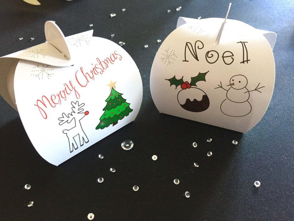 White Christmas Patisserie 1 Box & Tag