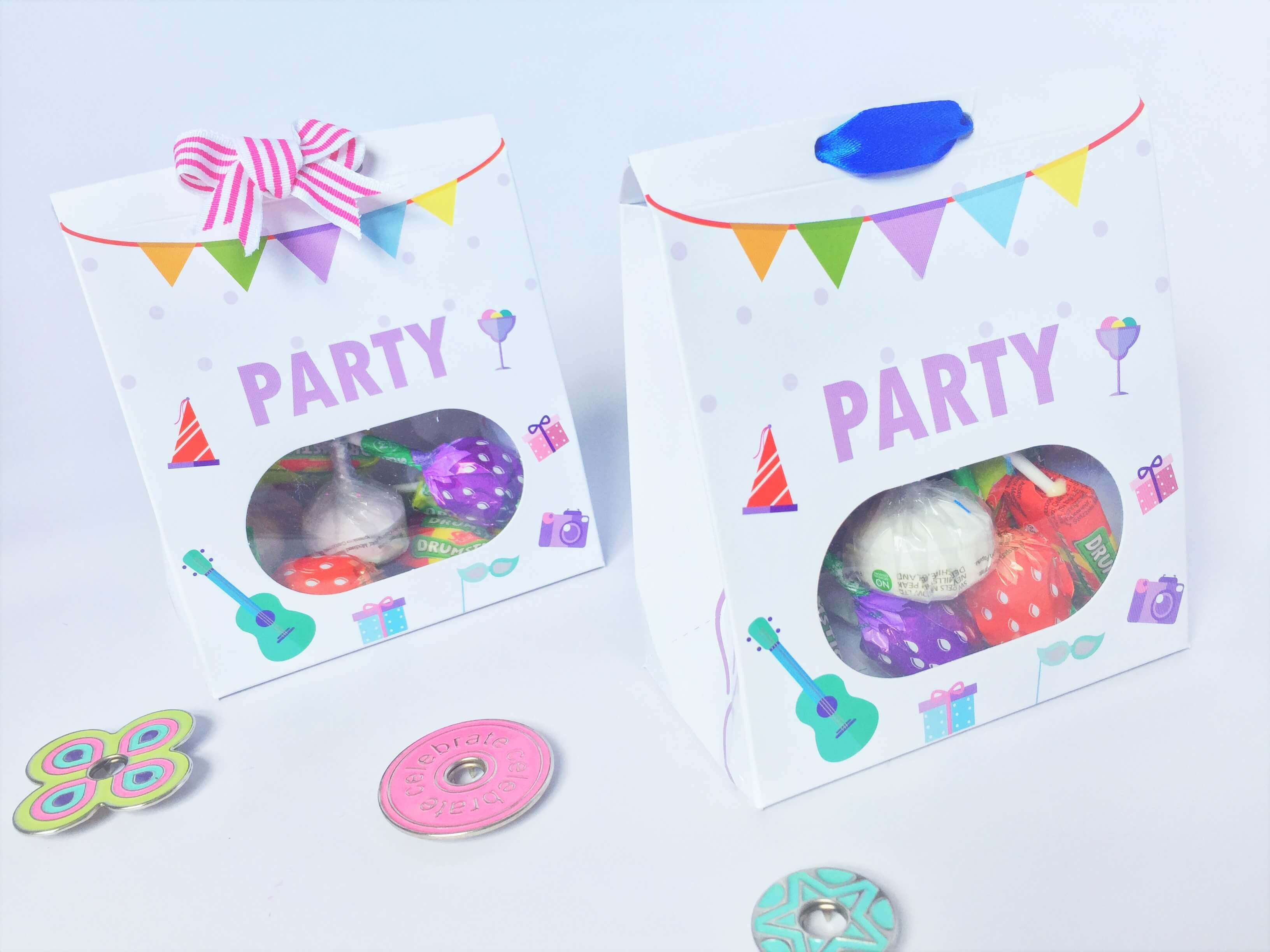 Kids Party Taper Top Box