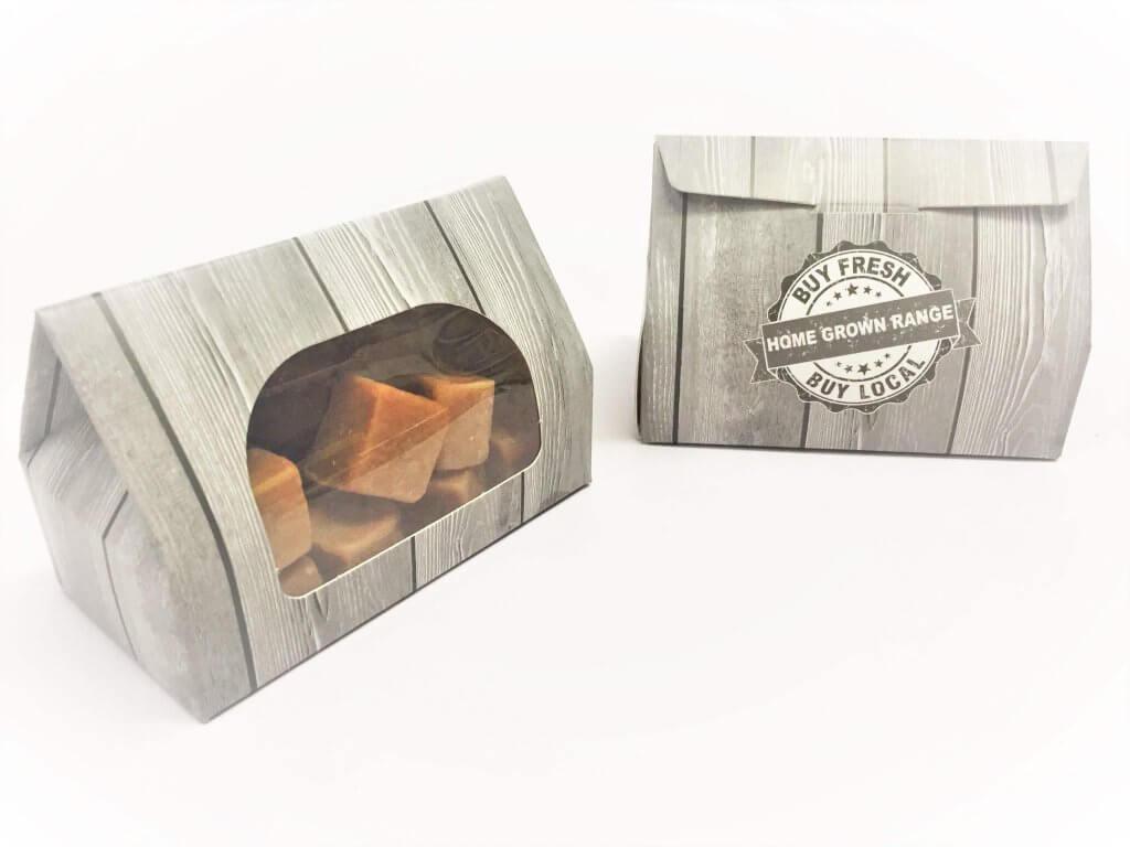 Home Grown Truffle/Fudge Taper Top Box