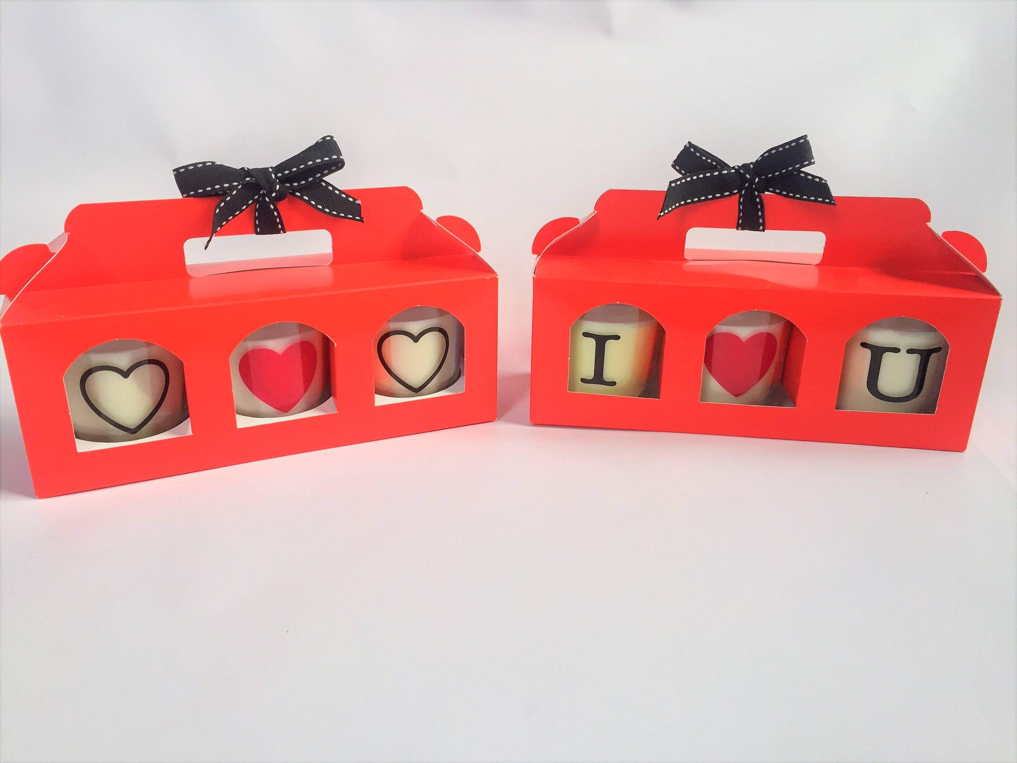 Red 3 Pack Candle / Jam Carrier