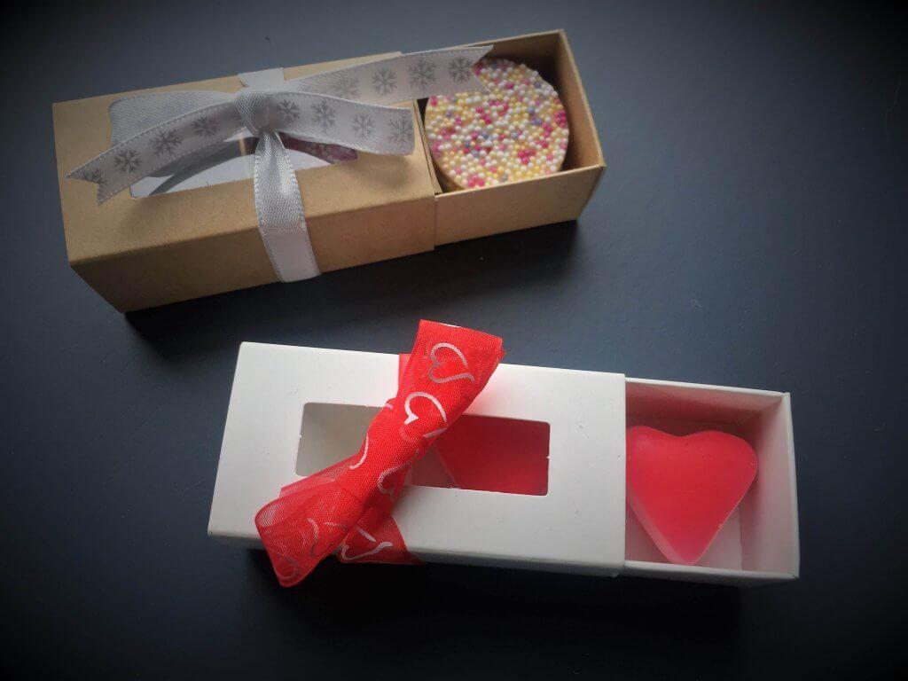Base & Sleeve Windowed 2 Pack Confectionary Box