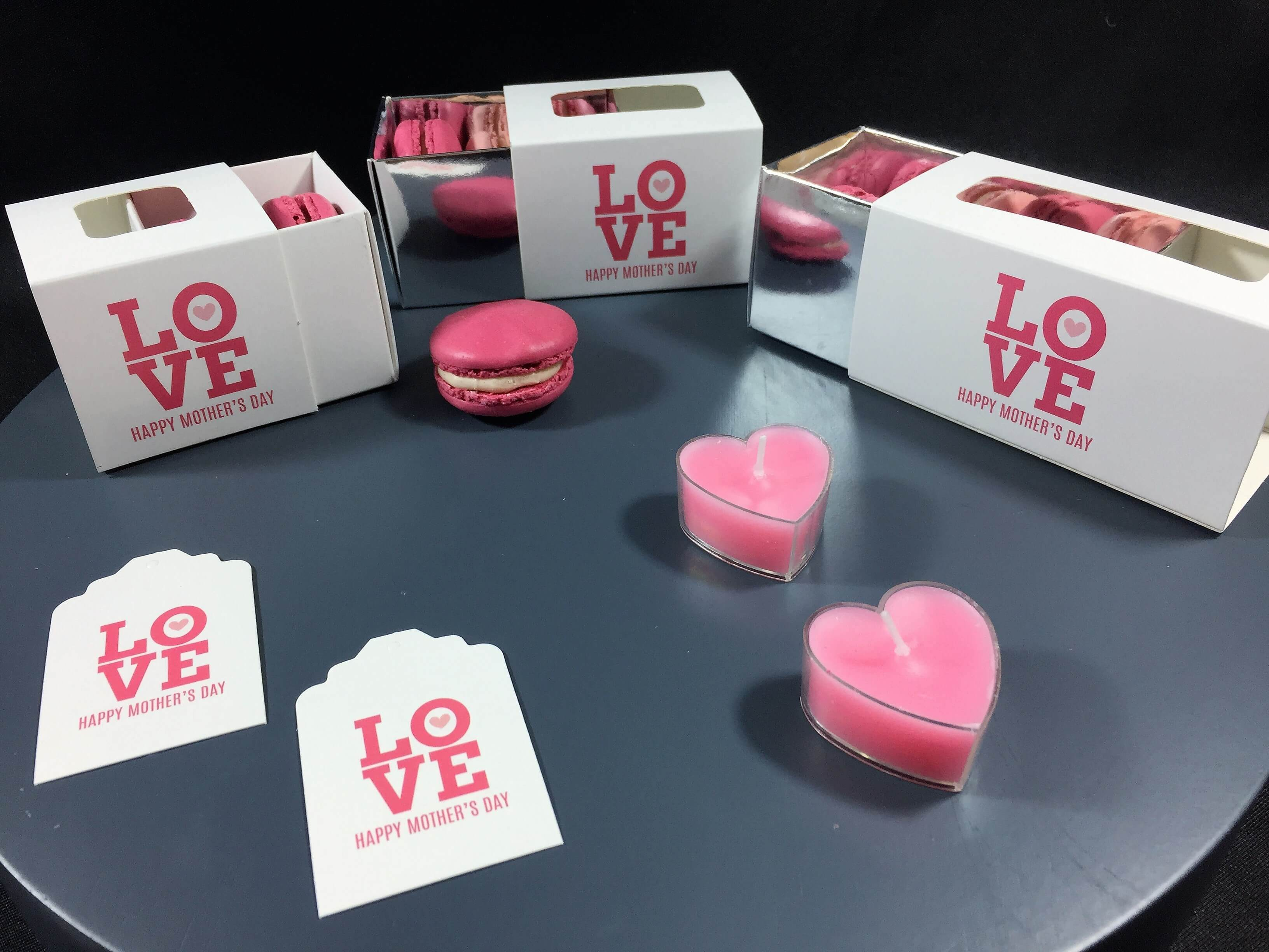 LOVE Mother's Day 2, 3 & 4 Pack Macaron Boxes
