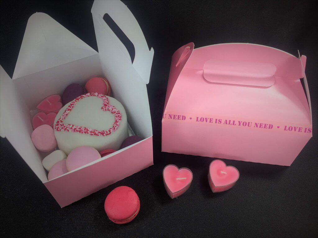Party Box Pink Printed