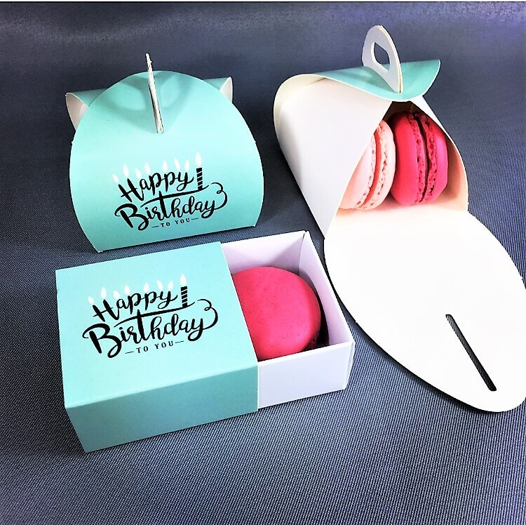 Happy Birthday Patisserie & Base & Sleeve Box