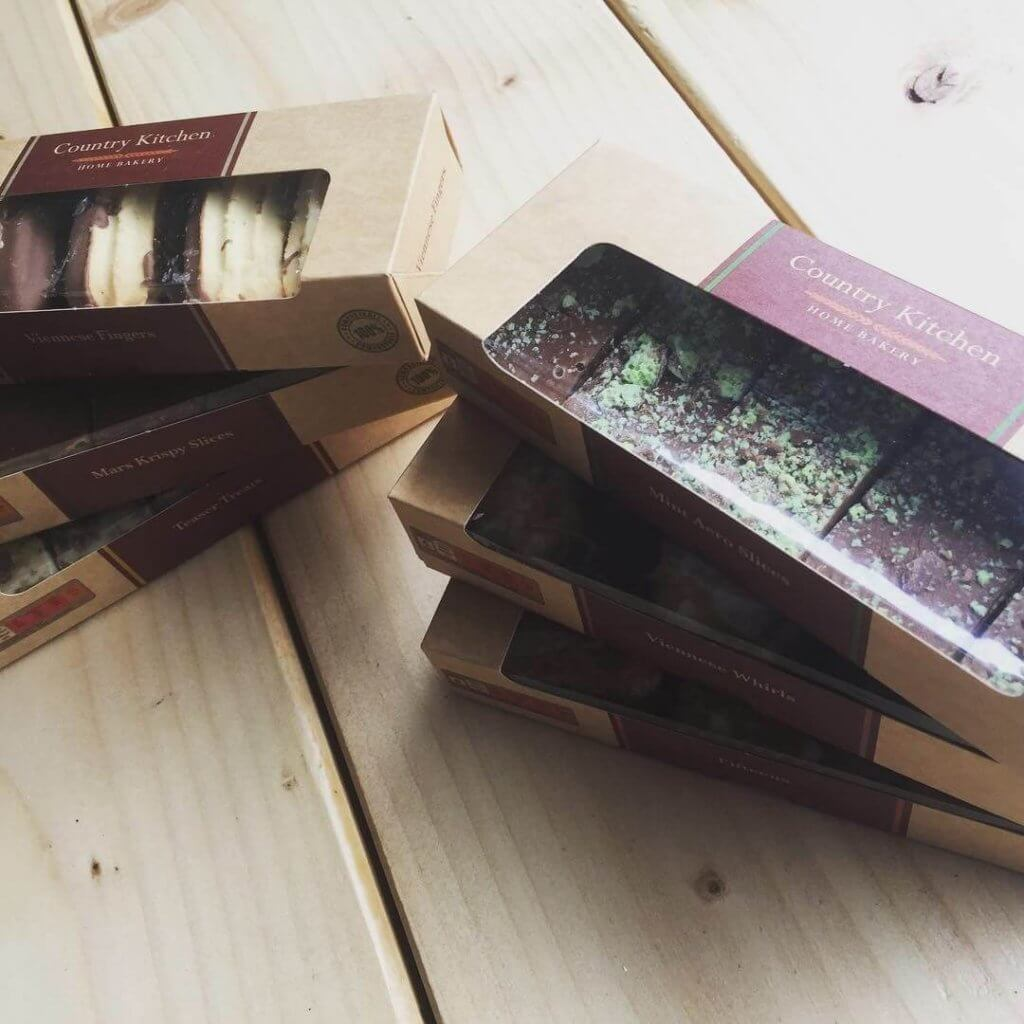 Bespoke Print Tray Bake Boxes Fully Compostable Board & Window