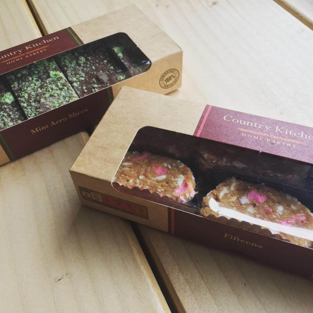 Branded Print Tray Bake Boxes