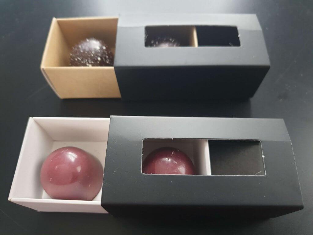 2 Pack Truffle Box in Black Print
