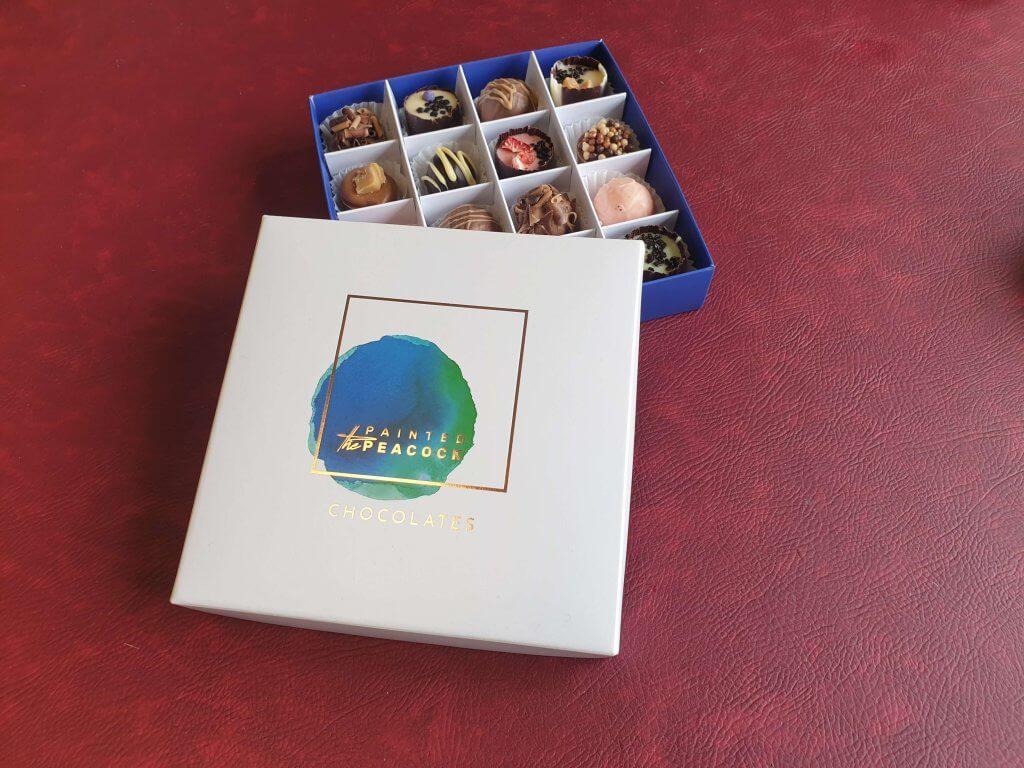 Branded Print & Foil 16 pack truffle box