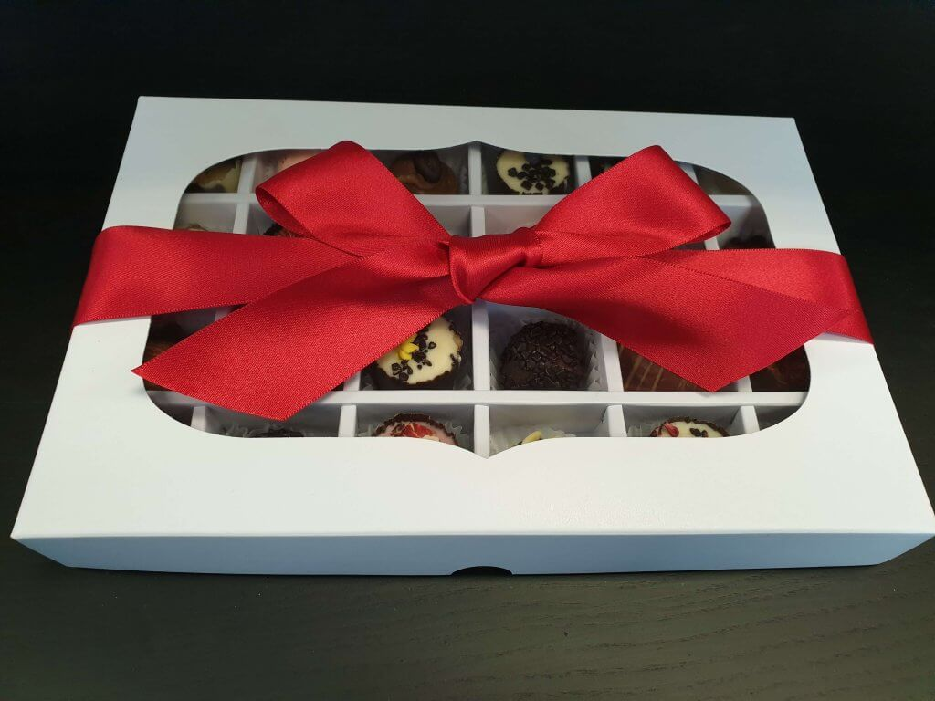 24 Pack Truffle Base & Lid with Insert Fully Compostable