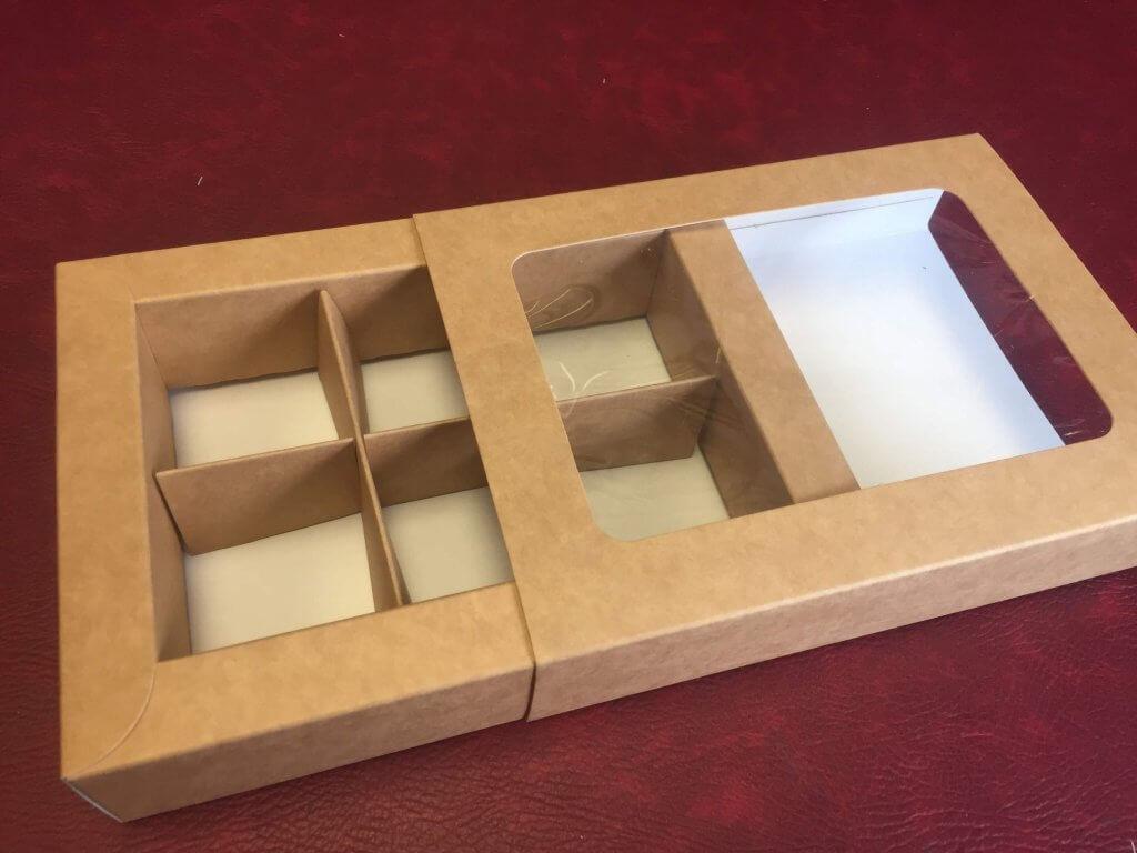 Sliding Windowed Sleeve Brownie Box